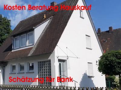Kosten Beratung Hauskauf & Schätzung für Bank Freiburg